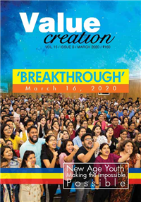 VALUE CREATION - VOL 15 / ISSUE 3 (March-2020)