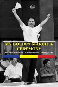My Golden March 16th Ceremony, 2016 - Booklet(Set of 10)