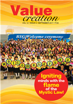 VALUE CREATION - VOL 12 / ISSUE 9
