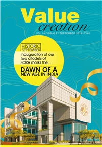 VALUE CREATION - VOL 14 / ISSUE 9 (SEPT-2019)