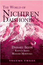 THE WORLD OF NICHIREN DAISHONIN'S WRITINGS - VOL.3