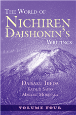 THE WORLD OF NICHIREN DAISHONIN'S WRITINGS - VOL 4