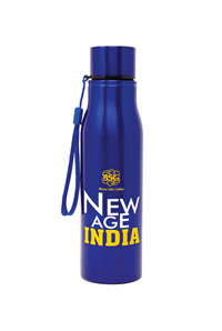 New Age Water Bottle -Blue
