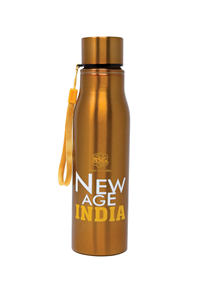 New Age Water Bottle - Copper