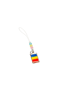 TRICOLOR HANGING PLATE