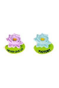 LOTUS FLOWER MAGNETS (SET OF 2)