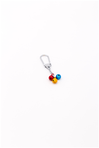 KEY RING TRICOLOR BELL