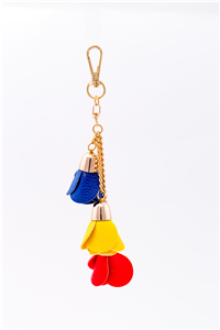 KEY RING TRICOLOR ROSE