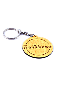 Trailblazer Keychain (Wooden)