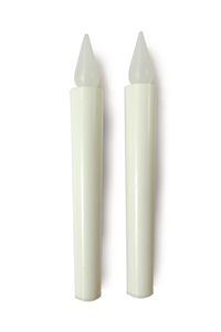BATTERY CANDLE - BIG SET OF 2