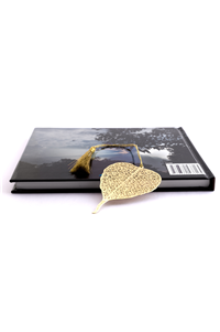 BODHI LEAF BOOKMARK - METAL