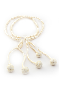 PLASTIC PEARL BEADS (WITH JAPANESE HANDBALL)