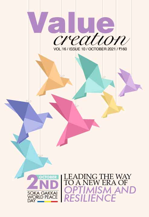 VALUE CREATION - VOL 16 / ISSUE 10(October  2021)