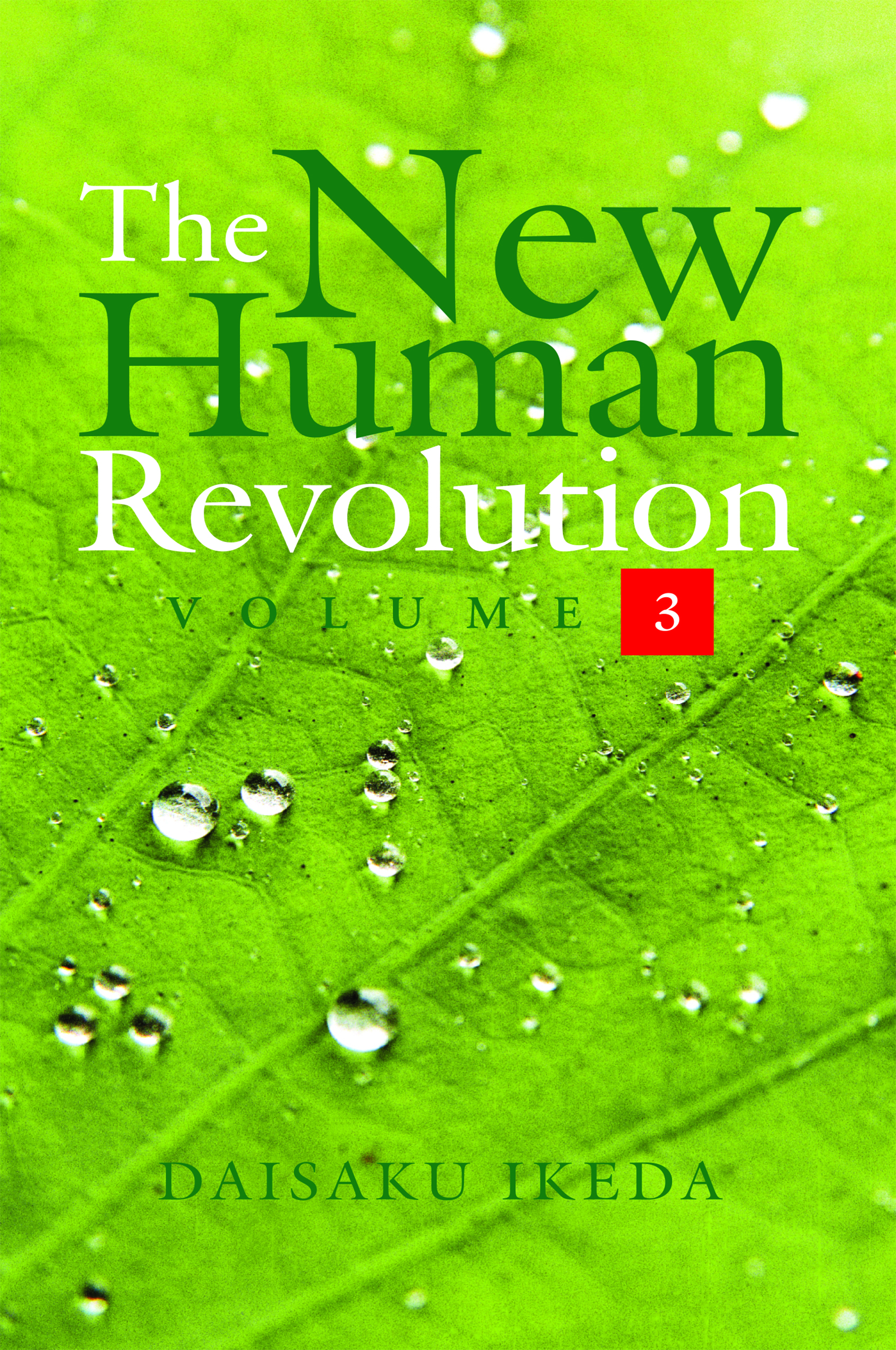 THE NEW HUMAN REVOLUTION VOLUME - 3