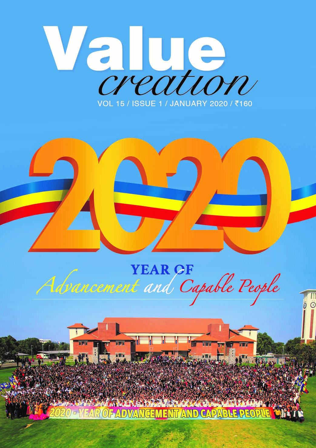 VALUE CREATION - VOL 15 / ISSUE 1 (JAN-2020)